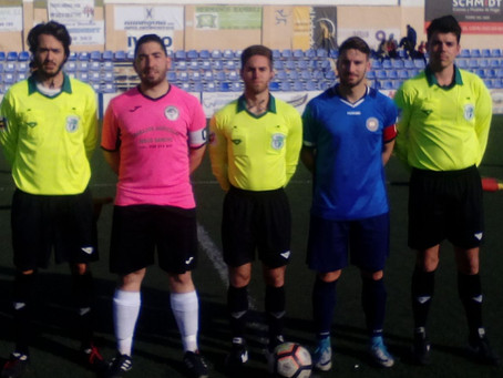 Iván Cuevas le da la victoria al Barrio ante el Atlético de Marbella (1-0)