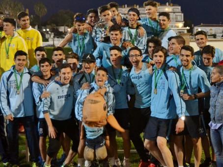 El Atletismo Nerja revalida su título de Campeon de Andalucia de clubes Junior