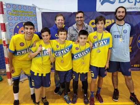Fiesta del baloncesto en Rincón de la Victoria