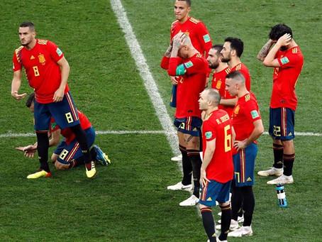España confirma el desastre ante una Rusia que practicó el antifútbol (1-1)