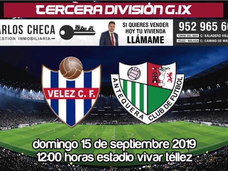Vélez y Antequera disputan uno de los 'clásicos' del grupo IX de Tercera (Dom.12:00)
