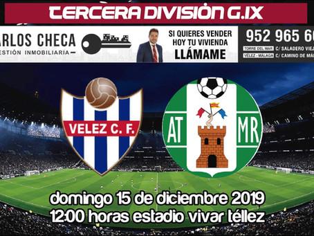 El Vélez vuelve a la liga este domingo para medirse en el Vivar Téllez al Atlético Mancha Real (Dom1