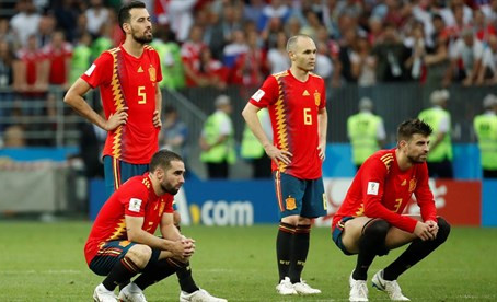 """Iniesta: """"Es mi último partido con la selección, no estuvimos a la altura"""""""