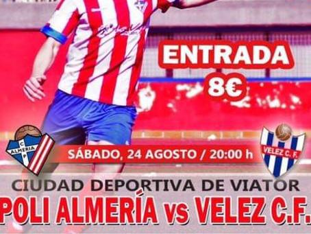 El sueño del Vélez arranca hoy en Viator (20:00 horas)