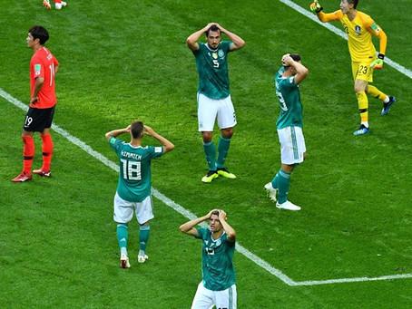 Alemania, víctima de la maldición del campeón (0-2)
