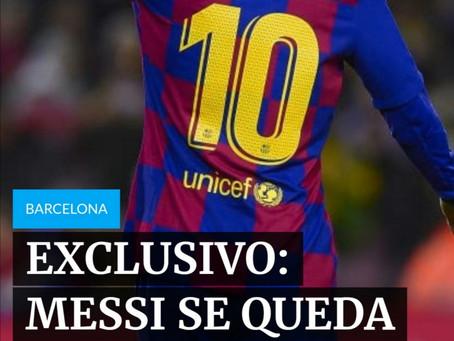 En Argentina dan por hecho que Messi seguirá un año más en el Barcelona