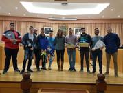 Vélez entrega diplomas a los participantes de la Ruta de la Vida Saludable
