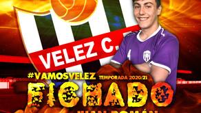 El Vélez confirma la llegada de Juan Román, interior izquierdo de 19 años