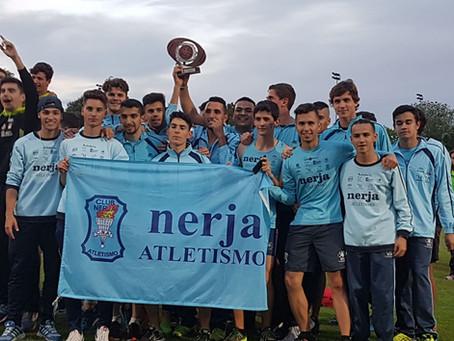 Bronce en Alcorcón para el Junior masculino del Club Atletismo Nerja