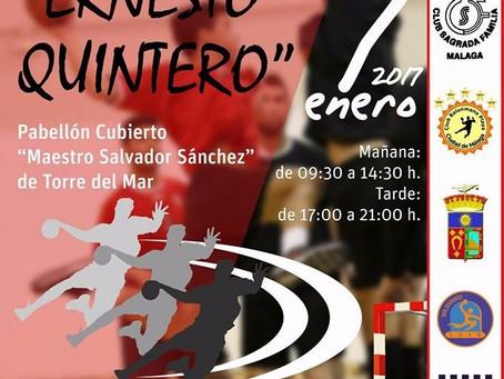 El balonmano torreño vuelve a recordar a Ernesto Quintero