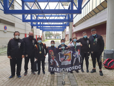 Box Akyles de Torre del Mar, tercer mejor equipo de Andalucía en taekwondo