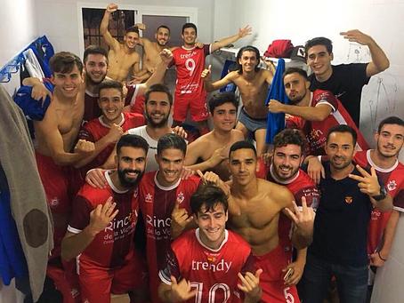 El filial del Rincón logra la victoria en el complicado feudo del Humilladero (1-3)