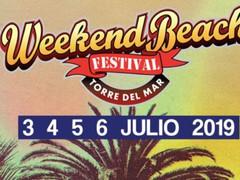 El festival Weekend Beach publica sus horarios