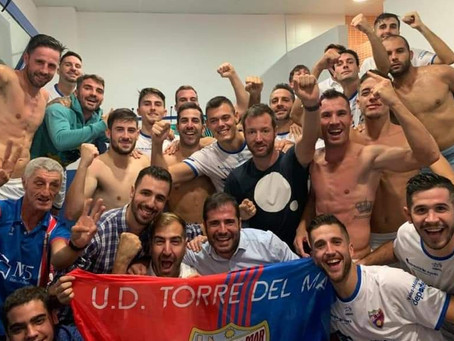 Javi y Serrano dan la victoria al Torre del Mar en el Vivar Téllez (0-2)