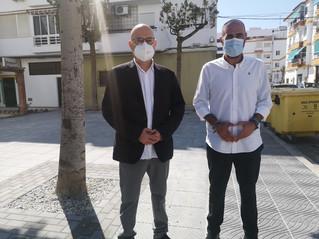 Finalizan las obras del programa PFEA de la calle Miguel Hernández de Torre del Mar