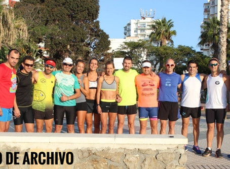 El Club Running Playas de Torre del Mar se suma al reto #The200Challenge