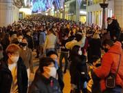 La foto de la vergüenza: Calle Preciados de Madrid abarrotada de gente