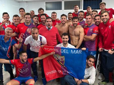 Emilio Guerra y Nacho certifican la victoria del Torre del Mar ante el Malaka (2-1)