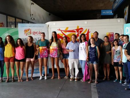 La Liga Femenina de Verano congrega en Málaga a más de ciento cincuenta jugadoras de baloncesto del