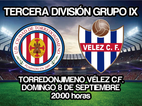 La racha del Vélez debe continuar en Torredonjimeno (Sáb. 20:00 horas)
