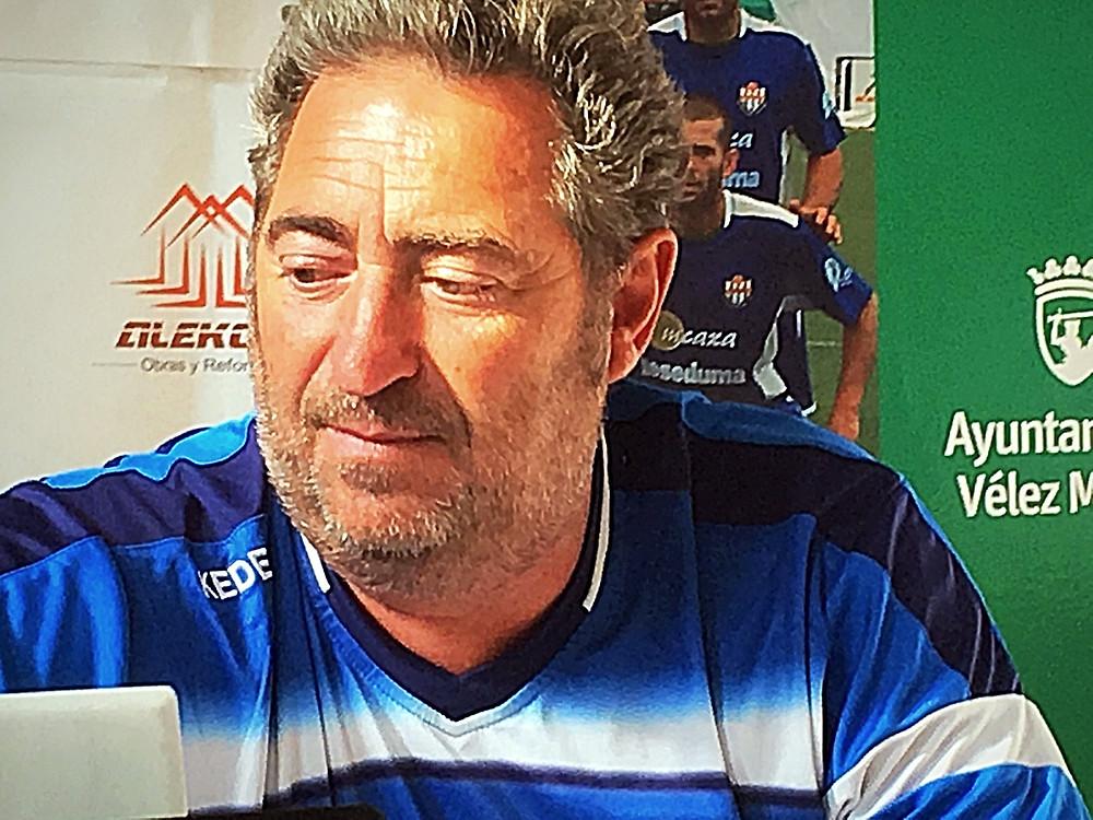 Paco Villarrubia Vélez Club de Fútbol
