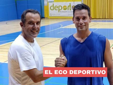 El veterano Manolo Martín, nuevo fichaje del AD Almayate de Baloncesto