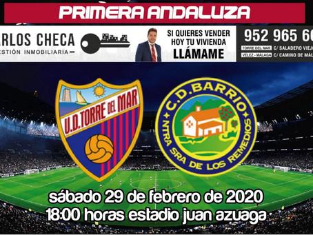 El 'derbi del tranvía', partido de la jornada en Primera Andaluza (Sáb.18:00h.)