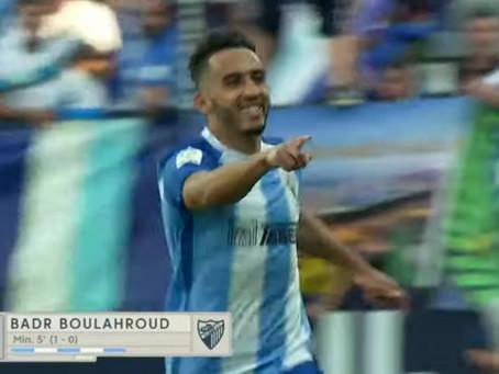 El Málaga gana al Elche y se medira al 'Dépor' en el playoff de ascenso (3-0)