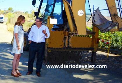 El Ayuntamiento de Vélez mejora varios caminos rurales del municipio
