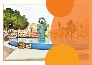 La fuente de la Virgen del Carmen de Torre del Mar se iluminará de naranja por el TDAH