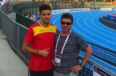 El nerjeño Isidro Leyva consigue el séptimo puesto en el Campeonato de Europa Junior