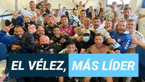 El Vélez, más líder tras ganarle al Estepona de Lucas Cazorla (1-0)