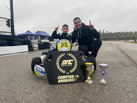 El veleño Nicolás García, campeón de Andalucía de Karting