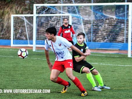 Un gol de Pablo López da la victoria al Torre del Mar enel campo del Ojén (0-1)