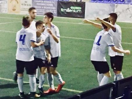 El filial del Vélez golea al Valle de Abdalajís y vuelve a la zona alta de la tabla (4-1)