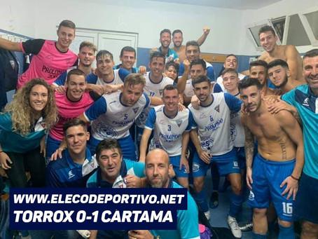 Un gol de penalti condena al Torrox frente al Cártama (0-1)