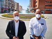 Medio Ambiente presenta la nueva campaña de remodelación de decoración floral en Vélez-Málaga