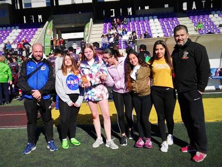 El Rugby Axarquía femenino, tercero en el torneo 'Placaje al cáncer' celebrado en Loja