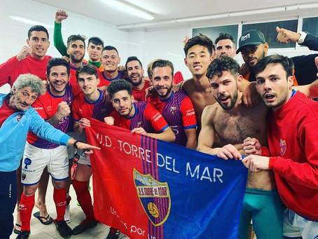 'Pulga' da la victoria al Torre del Mar en el partido aplazado ante el Cártama (1-0)
