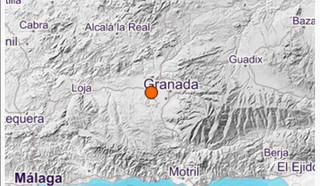 Última hora: Una réplica del terremoto de Granada se vuelve a sentir en la Axarquía