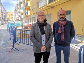 Comienzan los trabajos de remodelación de calle Rodríguez de la Fuente de Torre del Mar