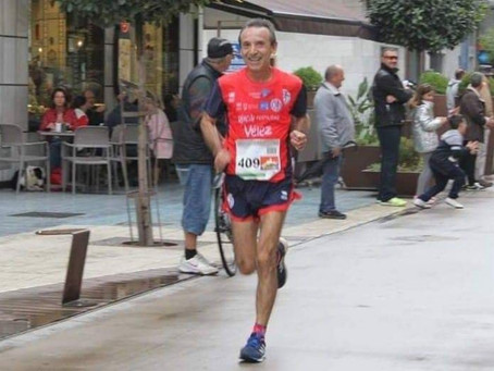 El torreño Pepe Vigo, participante hoy en la Maratón de Nueva York