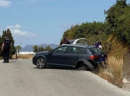 Detenido en Vélez-Málaga tras darse a la fuga en un accidente con dos heridos