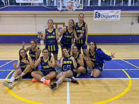 CBRV de Rincón de la Victoria repite triunfo ante las féminas de EBG (43-36)