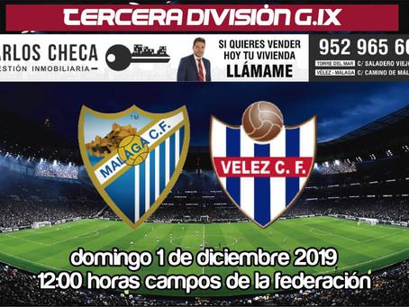 El Vélez se mide al Malagueño en el derbi más igualado de los últimos años (Dom.12:00h)