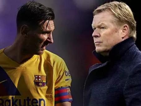 Última hora deportes: Messi comunica a Koeman que se ve fuera del Barcelona