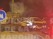 Urgente: Accidente con heridos en el cruce de la entrada de Almayate