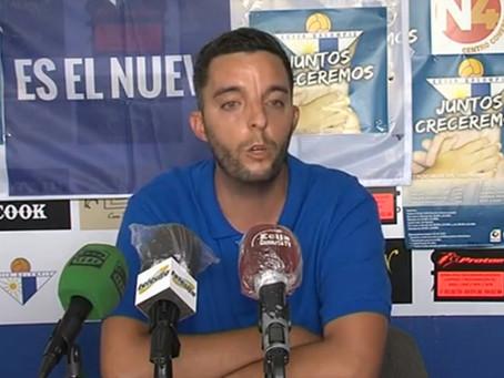 El veleño Sebastián Álvarez, presentado hoy como nuevo entrenador del Écija Balompié