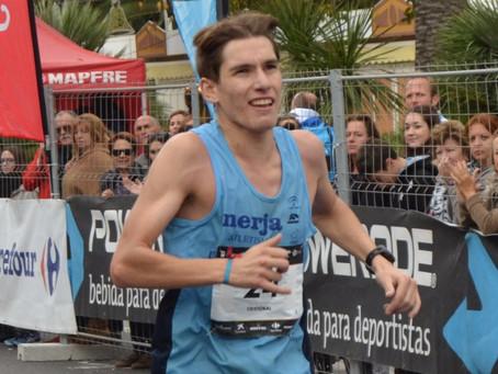 El atleta nerjeño Cristóbal Ortigosa hace doblete en menos de 24 horas