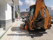 Inician las obras para el soterramiento de cables en calle Bellavista de Vélez - Málaga